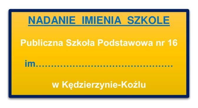 Kandydaci na patrona PSP 16 wyłonieni w głosowaniu poszczególnych klas: